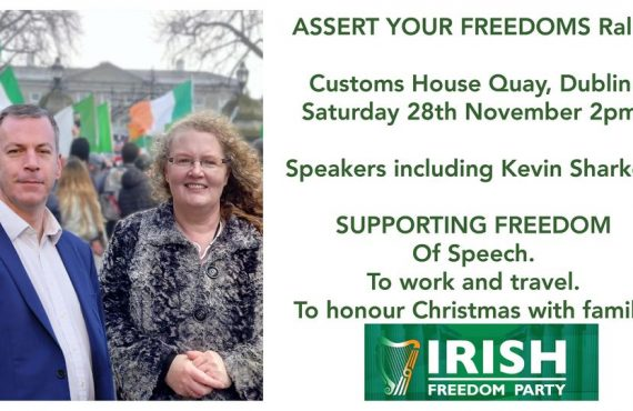 ASSERT YOUR FREEDOMS Rally.