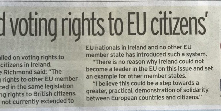 Europhile Fine Gael Senator Neale Richmond Appears to Be Suffering from Stockholm Syndrome